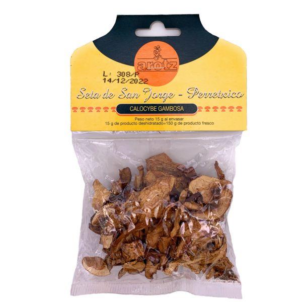 getrockneter wilder Maipilz - Speisepilze der Spitzenklasse aus Spanien - in Scheiben - 15 g