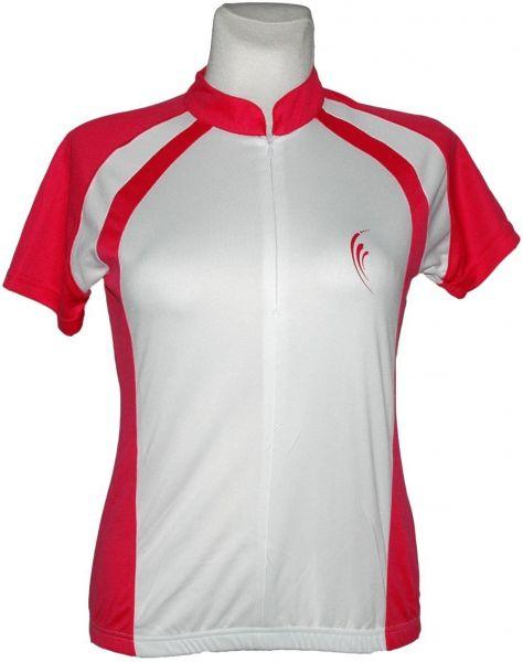 Damen Radtrikot - Radshirt- kurzarm - atmungsaktives Mesh Gewebe - COOLMAX ® Faser - Reflektor