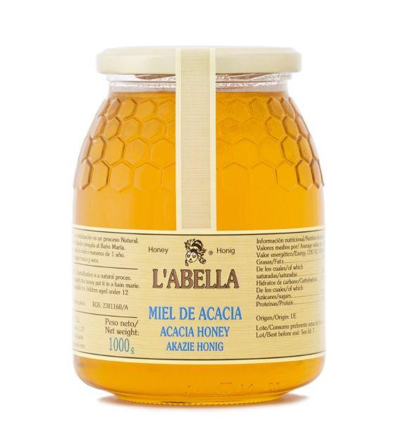 Echter Akazienhonig aus Spanien - Premium Qualität - reines Naturprodukt- kaltgeschleudert - im Glas