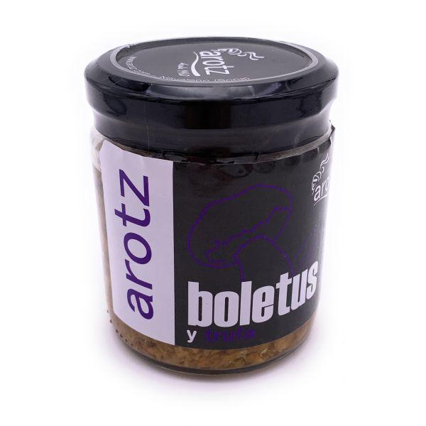 In Trüffelöl eingelegte Steinpilze - von wilden Steinpilzen der Spitzenklasse aus Spanien - 190 g