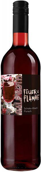 Punsch Schoko-Kirsch-Punsch 0,75l - Feuer & Flamme - Prämiert aus Deutschland 9,5 % vol