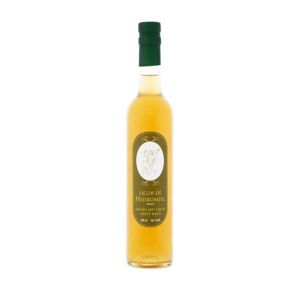 Blütenhonig Met - Honig Likör aus Spanien - Premium Qualität - 500 ml Flasche