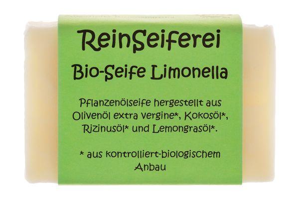 BIO - Zitronenseife - reine vegane Naturseife - kalt gerührte Handseife aus Österreich - 75 g
