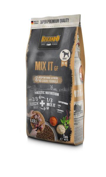 Belcando Mix It GF Ergänzungsfutter | Trockenfutter für Hunde zur Ergänzung bei Fleischfütterung & Barf 1x 1 kg