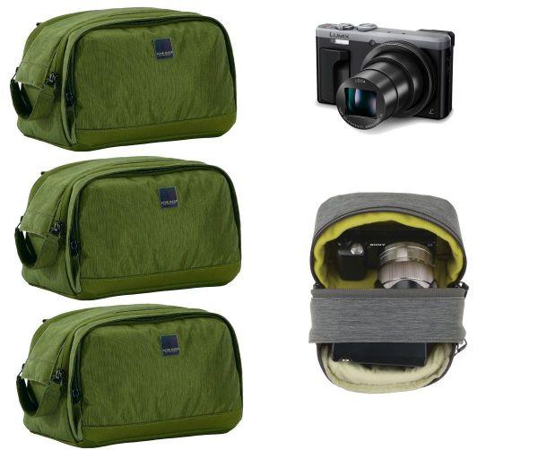 ACME MADE - 3x SET Montgomery Street Case -Kameratasche 1L - 9cm x 8cm x 12,5cm - 145 Gramm