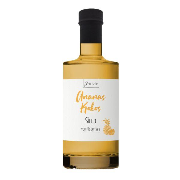 Ananas-Kokos-Sirup - Genüssle Ananas Kokos Sirup vom Bodensee