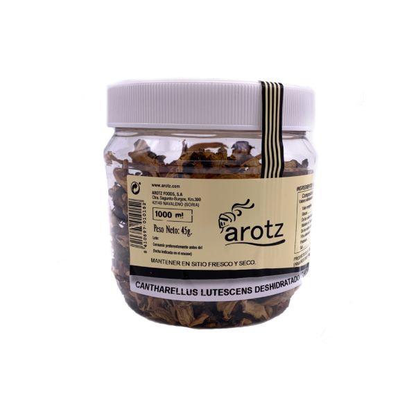 getrocknete Trompetenpfifferlinge - Speisepilze der Spitzenklasse aus Spanien - in Scheiben - 45 g