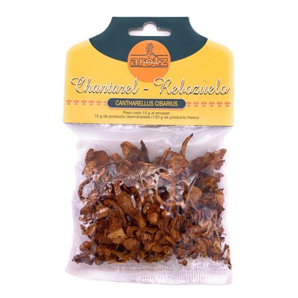getrocknete wilde Pfifferlinge - Speisepilze der Spitzenklasse aus Spanien - in Scheiben - 15 g