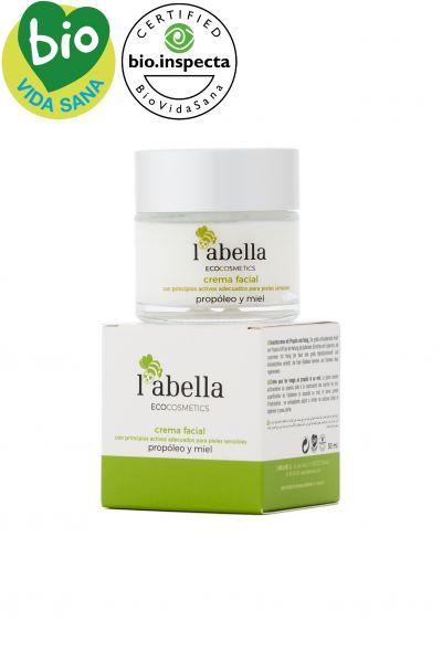 BIO Gesichtscreme für empfindliche Haut- enthält Honig - sorgt für Feuchtigkeit und pflegt