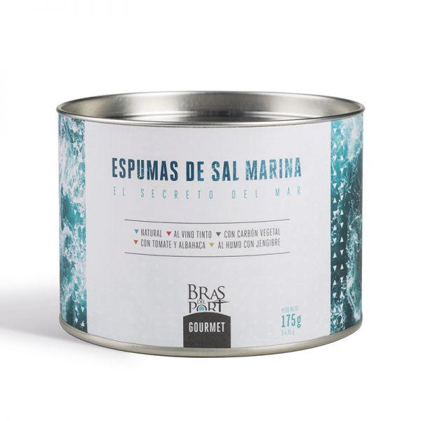 Meersalz Schaum - Espuma de Sal aus Spanien - Naturpark Salinas - 5 verschiedene Sorten a 35 g Pack