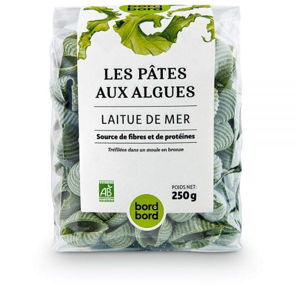 Bord à bord BIO Nudeln mit Algen/Meersalat 250g aus Frankreich/Bretagne/Atlantik | Laborgeprüfte Alg