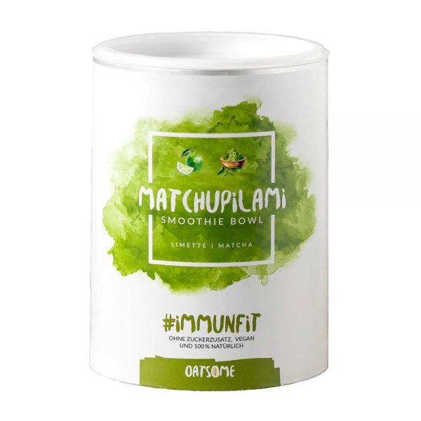 Oatsome - Matchupilami - Smoothie Bowl - Nährstoff Frühstück mit 100% natürlichen Zutaten & ohne Zus