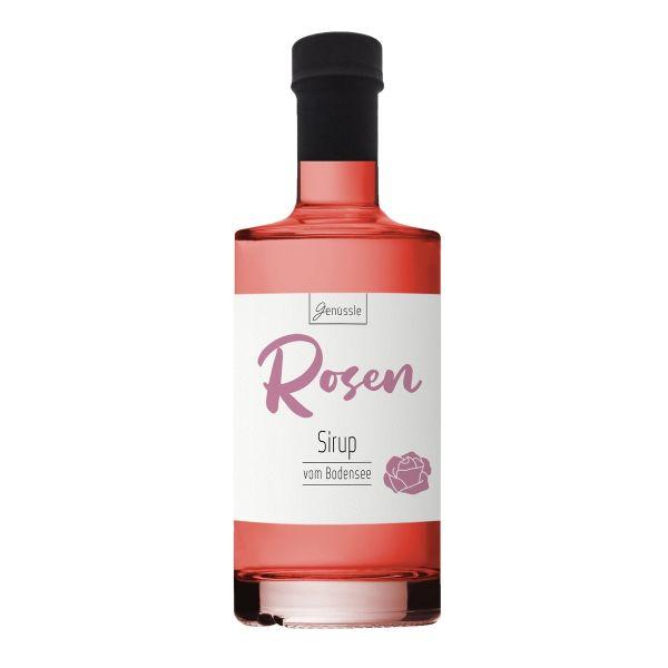 Rosenblüten-Sirup - Genüssle Rosensirup vom Bodensee-Rosen Sirup aus Rosenblüten
