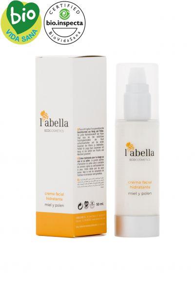 BIO Gesichtscreme für junge Haut- Honig und Pollen für Pflege und Feuchtigkeit