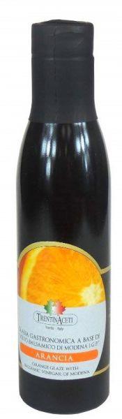Orangen Balsamico - Balsamico Creme mit Aroma aus Italien - 300 ml - Aceto Balsamico Di Modena IGP