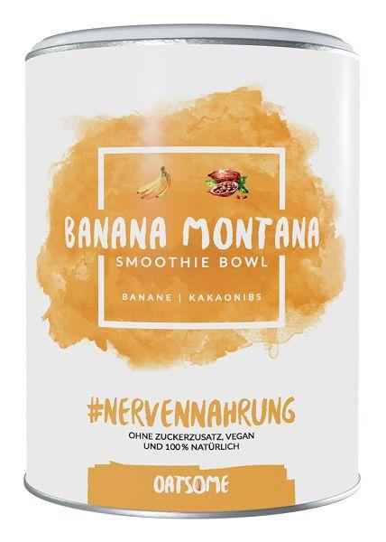 Oatsome - Banana Montana - Smoothie Bowl - Nährstoff Frühstück mit 100% natürlichen Zutaten & ohne Z