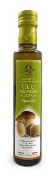 Extra Natives Olivenöl mit natürlichen Steinpilzaroma aus Italien - höchste Qualität - 250 ml