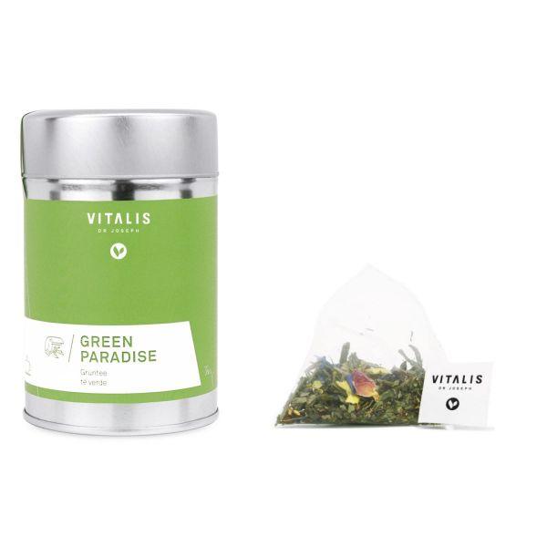 Vitalis - Grüntee Green Paradise 36g Tea - Tee von Vitalis Dr. Joseph - Grüner Tee
