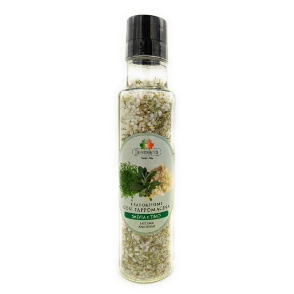 Italienische Gewürzmischung - Salbei & Thymian Salz Gewürze - Salvia e Timo Salz - höchste Qualität