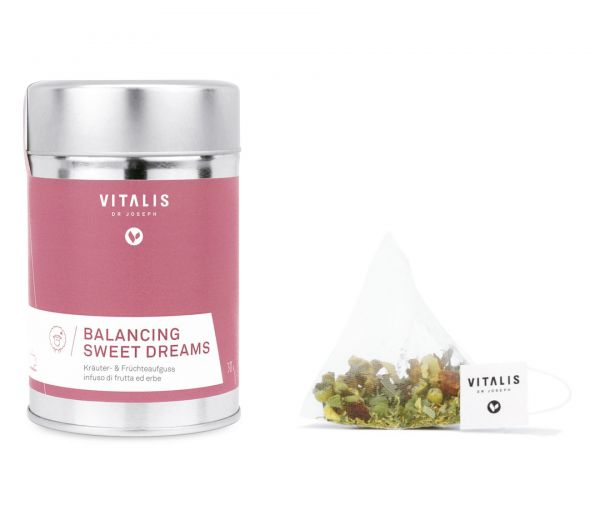 Vitalis - Kräutertee Balancing Sweet Dreams 36g - Tee von Vitalis Dr. Joseph