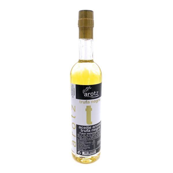 Trüffelöl der Spitzenklasse aus Spanien - Extra natives Olivenöl mit schwarzem Trüffel und Trüffelar