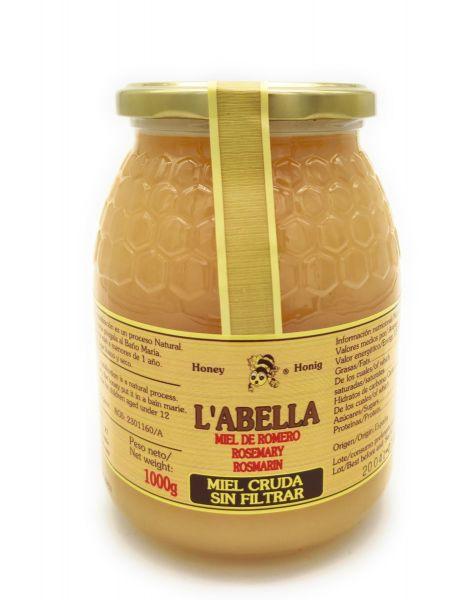 RAW Rosmarinhonig aus Spanien - Ungefilterte Premium Qualität - reines Naturprodukt - kaltgeschleude