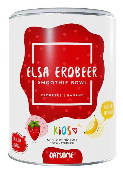 Oatsome - Kids Elsa Erdbeer's - Smoothie Bowl - Nährstoff Frühstück mit 100% natürlichen Zutaten & o