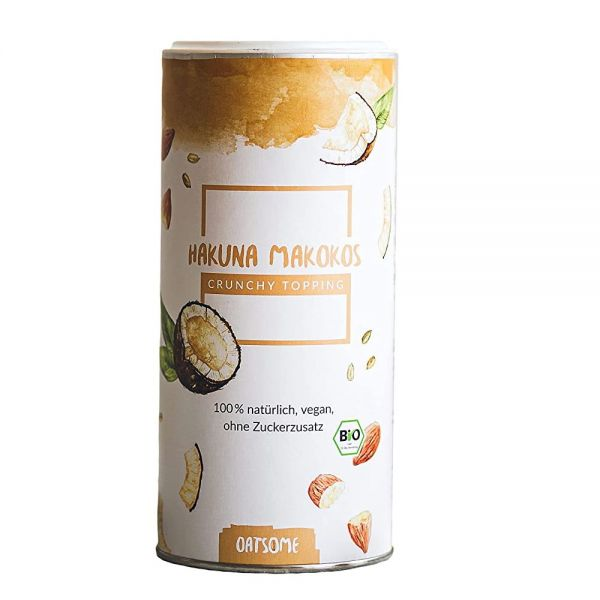 Oatsome - Hakuna Makokos - Crunchy Toppings - Bio? Logisch! - Extra Crunchy - Ohne Zuckerzusatz - 24