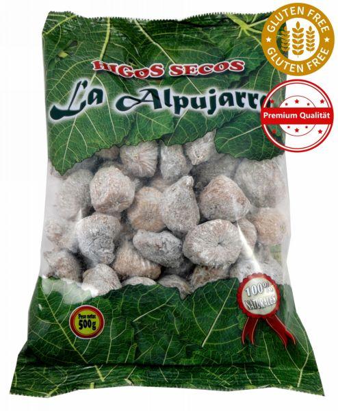 Getrocknete Feigen aus Spanien - Premiumqualität - 100 % natürlich - Glutenfrei - 500 g Packung