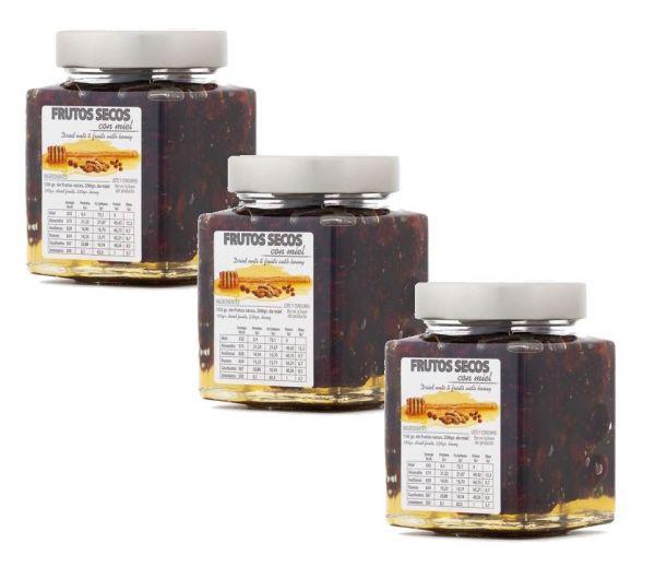 In spanischen Honig eingelegte Heidelbeeren - einzigartiges Produkt mit tollem Geschmack - 3 x 450 g