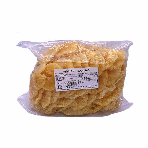 Getrocknete Ananas Scheiben - natürliche Premium Qualität - Vitaminreich - aus Thailand - 5 kg